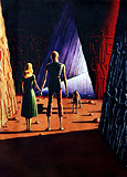[ The Cave of the Violet Light by Ed Emshwiller ]